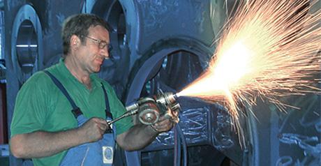 Leistungen: Lemke Metallspritzerei GmbH & Maschinen- und Gerätebau GmbH